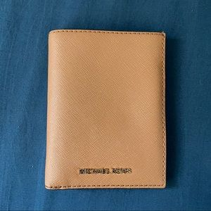 Michael Kors passport style wallet